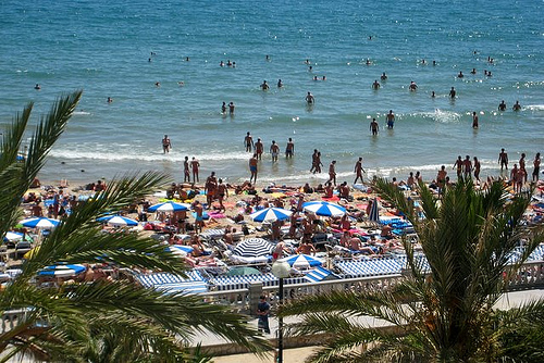 Beaches in Spain: Las Balmins Beach, Spain
