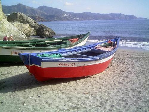 Beaches in Spain: Calahonda Beach, Spain