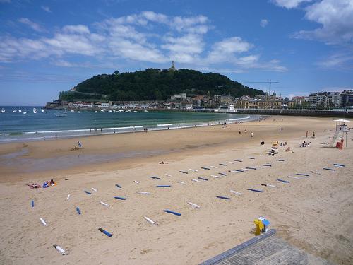 Beaches in Spain: La Concha Beach, Spain