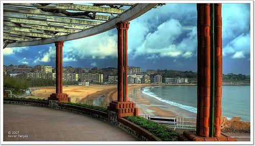 Beaches in Spain: Sardinero Beach, Spain